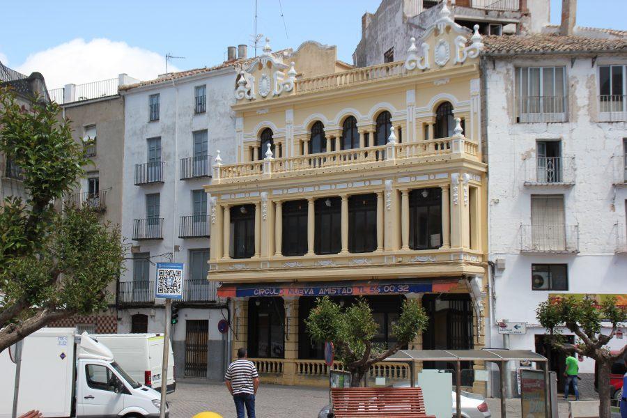 Uno de los edificios más singulares de la época modernista