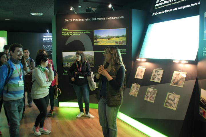 Carmen explica la historia del Corredor Verde
