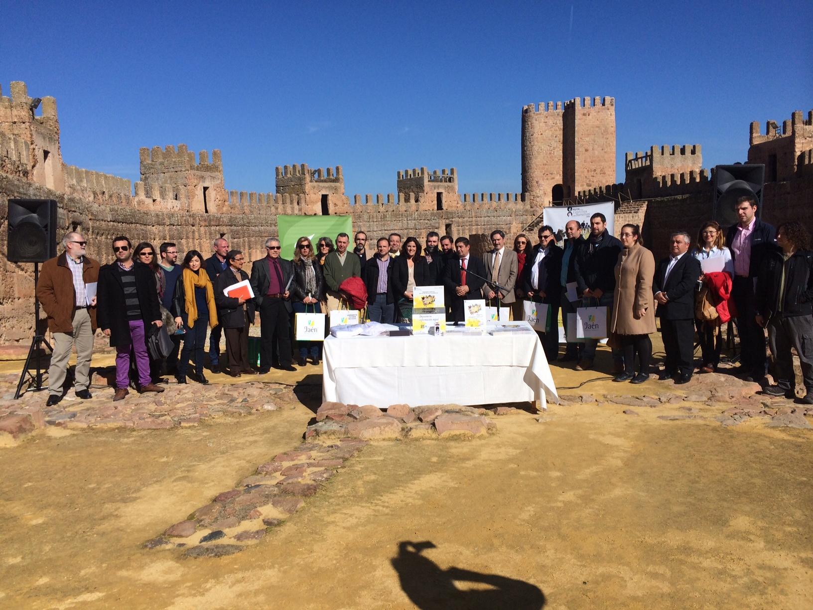 Presentación pasaporte Ruta de los Castillos y las Batallas