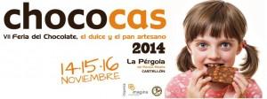 cartel de la VII Feria CHOCOCAS