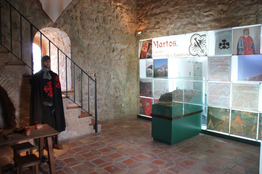 Interior del Castillo de la Villa, ahora reconvertido en museo