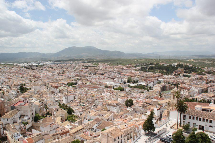 Vista de la expansión de la ciudad durante el s. XX