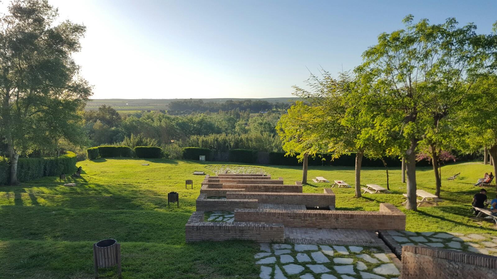 Vista del Corredor Verde desde la Fuente Vieja